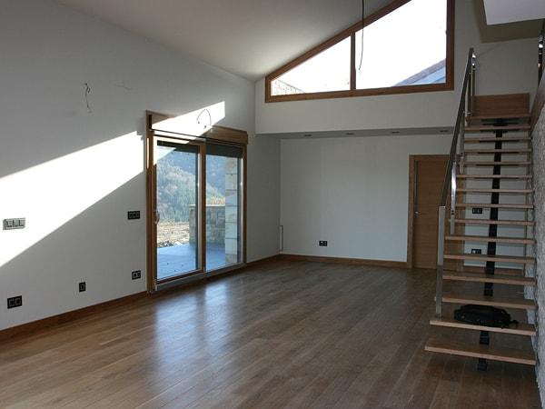 interior de la vivienda en Mendata, arquitectura Bilbao - Smark Studio