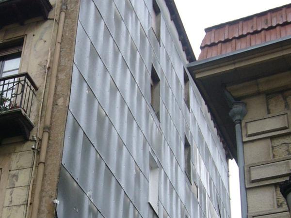 Vista de fachada antes de su reforma, Arquitectura Bilbao, Smark Studio.