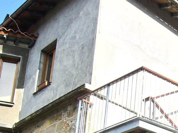 Detalle de reforma de escalera en Larrabetzu, Arquitectura Bilbao