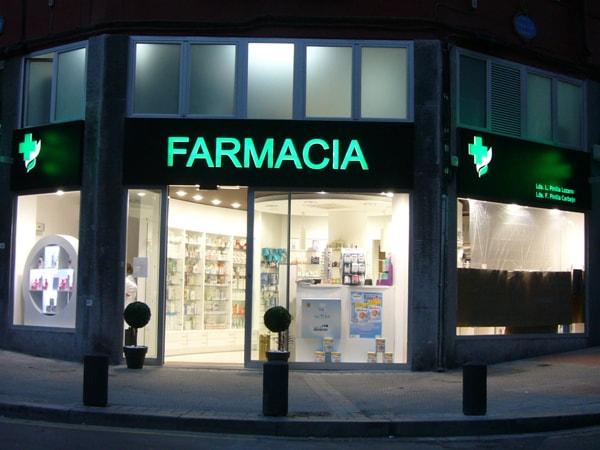 Farmacia, Arquitectura Bilbao. Smark Studio.