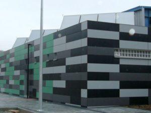 Detalle de vestuario, Trapagaran. Arquitectura Bilbao.