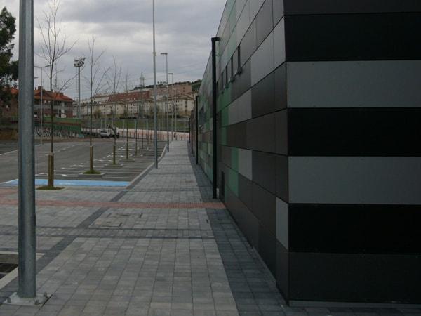 Vestuario de fútbol, Trapagaran, Smark Studio, Arquitectura Bilbao.