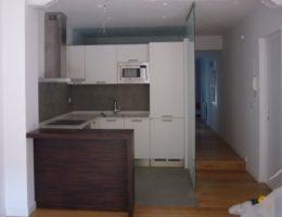 Reforma de vivienda, Arquitectura Bilbao, vista de la cocina