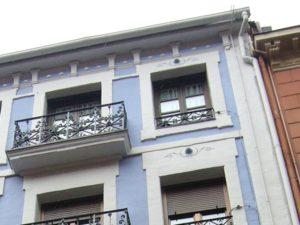 Reforma de fachada, detalle, arquitectura Bilbao, Smark Studio
